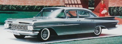 1959 Chevrolet Biscayne sedan