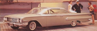 1960 Chevrolet Bel Air Sport Hardtop Coupe