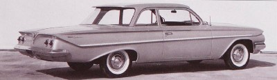 1961 Chevrolet Bel Air Sedan