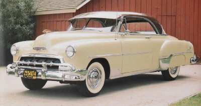 1952 Chevrolet Bel Air hardtop