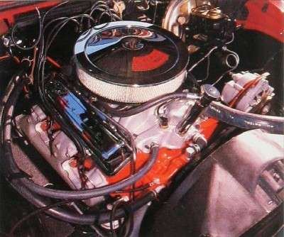 1967 Chevrolet Camaro Z28 engine
