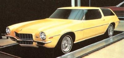 Chevrolet Camaro And Pontiac Firebird Concept Cars