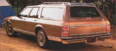 1989 Chevrolet Caprice Estate Wagon
