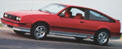 The 1985 Chevrolet Cavalier Z24 Hatchback, part of the 1985 Chevrolet Cavalier line.