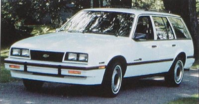 The 1986 Chevy Cavalier RS Wagon, part of the 1986 Chevy Cavalier line.