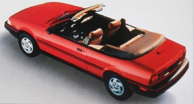The 1991 Chevrolet Cavalier RS Convertible, part of the 1991 Chevy Cavalier line.
