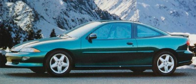The 1995 Chevrolet Cavalier Z24 Coupe, part of the 1995 Chevrolet Cavalier line.