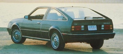 The 1983 Chevrolet Cavalier 3-door F-41 Hatchback, part of the 1983 Chevy Cavalier line.