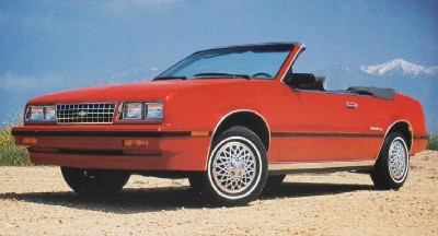 The 1984 Chevrolet Cavalier, part of the 1984 Chevrolet Cavalier line.
