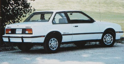 The 1984 Chevrolet Cavalier Notchback, part of the 1984 Chevrolet Cavalier line.