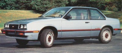 The 1985 Chevrolet Cavalier Type 10 Coupe, part of the 1985 Chevrolet Cavalier line.