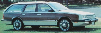 1985 Chevrolet Celebrity Estate wagon