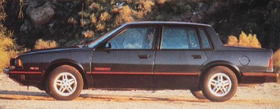 1986 Chevrolet Celebrity Eurosport package