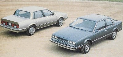 1983 Chevrolet Celebrity 4-door sedan and 2-door coupe