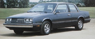 1983 Chevrolet Celebrity 2-door coupe