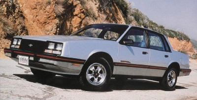 1984 Chevrolet Celebrity Eurosport package