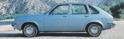 1982 Chevrolet Chevette 5-door hatchback