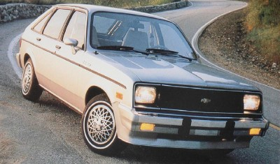 1984 Chevrolet Chevette five-door hatchback