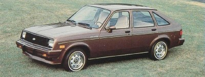1985 Chevrolet Chevette five-door hatchback