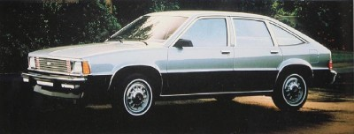 1983 Chevrolet Citation five-door hatchback