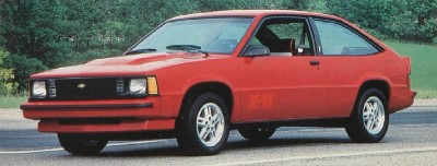 1985 Chevrolet Citation X-11 Sport Package