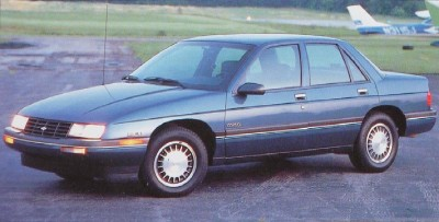 Chevrolet's 1988 Corsica compact had quietly handsome good looks and pretty good performance.
