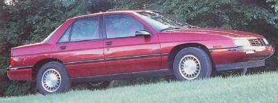 The 1988 Corsica saw strong sales in its first model year.