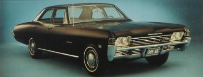 The 1968 Chevrolet Caprice sold well, spurred by the model's claims of luxury.