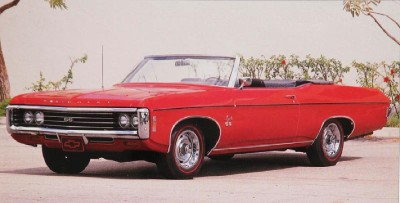 Styling changes to the 1969 Chevrolet Impala and other full-size Chevys gave the line a bigger, more imposing look.