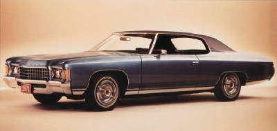 The 1971 Chevrolet Caprice resembled the Cadillac model of the same year.