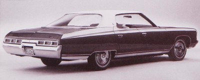 Rear decks on 1971 full-size Chevys were wider and more sculpted than before.