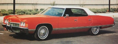 Chevrolet made the 1972 Chevrolet Caprice with two four-door body styles.