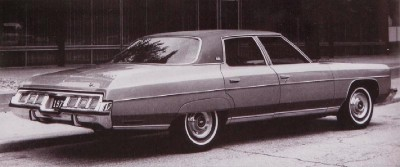 The 1973 Chevrolet Caprice Classic four-door Sedan found more than 58,000 buyers as the line gained popularity.