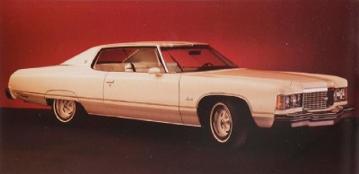 The 1974 Chevrolet Impala lost buyer appeal due to the energy crisis.