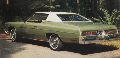 Despite energy issues, the 1974 Impala Sport Coupe sold more than 50,000 units.