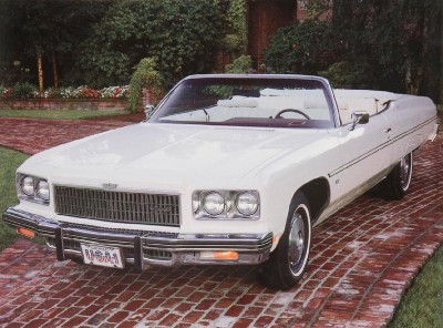 The 1975 Chevrolet Caprice Classic was the last full-size convertible for Chevy.