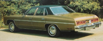The 1975 Chevrolet Impala four-door Sedan was the best-selling full-size Chevy that year.