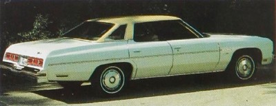 The 1976 Chevrolet Impala 4-door Sedan sold more than 86,000 copies.