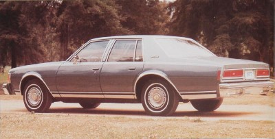 The 1977 Chevrolet Caprice Classic was smaller and more efficient than before.