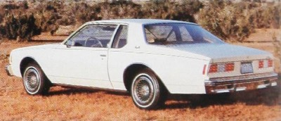 The 1978 Chevrolet Impala line included a Coupe model.