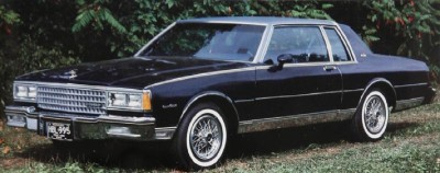 The 1980 Chevrolet Caprice Classic and Impala were best served by the optional 305-cubic-inch V-8.