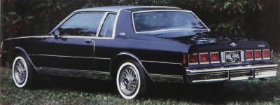 Chevrolet ditched the wraparound rear window for the 1980 Caprice Classic.