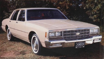 The 1981 Chevrolet Impala tweaked its transmission to improve mileage.