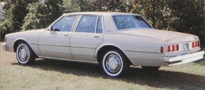 The handsome 1981 Chevrolet Impala stayed competitive even as a full-size.