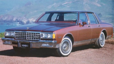 Chevrolet successfully promoted the comfort and low prices of its 1982 Chevrolet Caprice Classic and Impala.