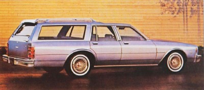 The 1982 Chevrolet Impala offered a smooth ride and plenty of room.