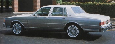 The sedan-only offering of the 1983 Chevrolet Caprice Classic and Impala suggested that Chevy was targeting an older audience.