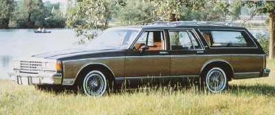 A full-size Chevy wagon was also available only as a Caprice Classic in 1984.