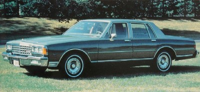 An emphatic grille announced the 1985 Chevrolet Caprice Classic.