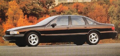 The 1994 Chevolet Impala SS was a variant of the Caprice.